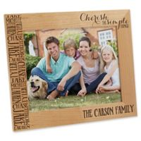 Cherish The Simple Things 8-Inch x 10-Inch Picture Frame