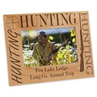 Big Hunter 4-Inch x 6-Inch Picture Frame
