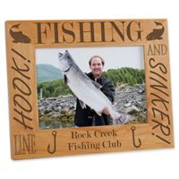 Fishing Pro 5-Inch x 7-Inch Picture Frame