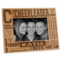 C is for Cheerleader 4-Inch x 6-Inch Picture Frame