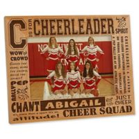 C is for Cheerleader 5-Inch x 7-Inch Picture Frame
