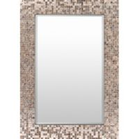 Wylde 40-Inch x 28-Inch Wall Mirror in Copper