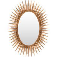 Surya Liparit 42-Inch x 30-Inch Wall Mirror in Gold