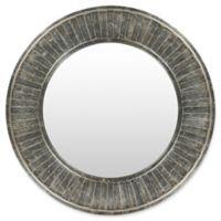 Surya Eliza 40-Inch Square Wall Mirror in Silver