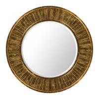 Surya Eliza 40-Inch Round Wall Mirror in Gold