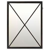 Surya Eoso 40-Inch x 30-Inch Wall Mirror in Black