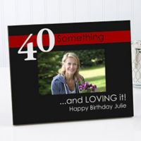 Age Is Not Important 4-Inch x 6-Inch Picture Frame
