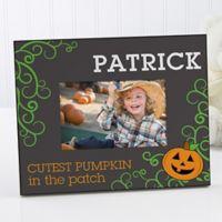 Cutest Pumpkin 4-Inch x 6-Inch Picture Frame