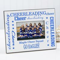 Cheerleading 4-Inch x 6-Inch Picture Frame