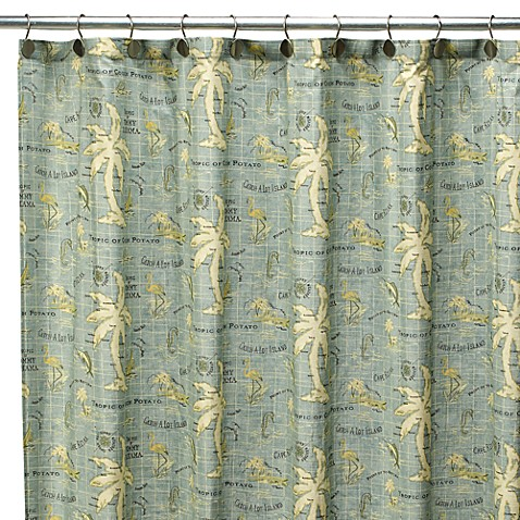 Tommy Bahama® Island Song 72 Inch X 72 Inch Fabric Shower Curtain