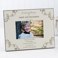 In Loving Memory 4-Inch x 6-Inch Memorial Picture Frame