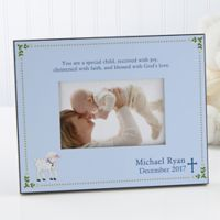 Christened with Faith 4-Inch x 6-Inch Picture Frame