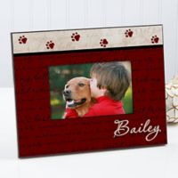 Man's Best Friend 4-Inch x 6-Inch Picture Frame