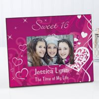 Sweet Sixteen 4-Inch x 6-Inch Picture Frame