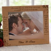 Love is Patient 8-Inch x 10-Inch Picture Frame