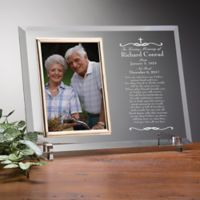 We Shall Meet Again Memorial Engraved Picture Frame
