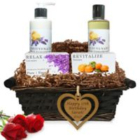 Pure Energy Apothecary Daily Delight Pure Aromatherapy Birthday Gift Basket