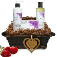 Pure Energy Apothecary Daily Delight Lavender Birthday Gift Basket