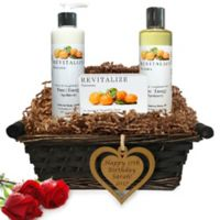 Pure Energy Apothecary Daily Delight Satsuma Birthday Gift Basket