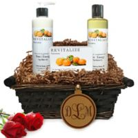 Pure Energy Apothecary Daily Delight Satsuma Monogram Gift Basket