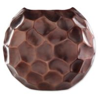 Carassima Large Decorative Table Vase in Brown