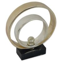 Moe's Home Collection Bands I Sculpture in Gold