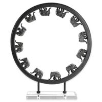Uttermost Elephant Walk Sculpture in Bronze