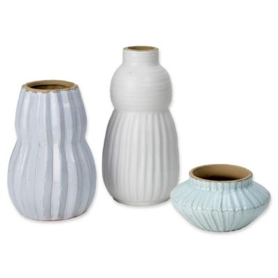 Buy Set Of 3 Vases From Bed Bath Beyond