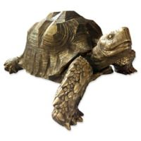 Moe's Home Collection Mock Turtle Sculpture in Gold