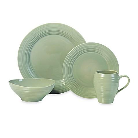 Mikasa® Swirl Dinnerware Collection in Sage  sc 1 st  Bed Bath \u0026 Beyond & Mikasa® Swirl Dinnerware Collection in Sage - Bed Bath \u0026 Beyond