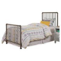 Hillsdale Furniture Brandi Twin Metal Bed in Stone