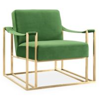 TOV Furniture Baxter Velvet Club Chair in Green