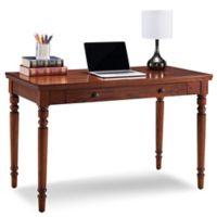 Leick Home Farmhouse Laptop Desk in Oak