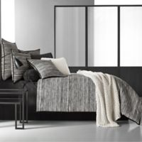 Oscar/Oliver Flen King Comforter Set in Black