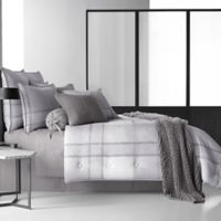 Oscar/Oliver Leighton Queen Comforter Set in Grey