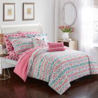 Chic Home Mahalia 9-Piece Full Comforter Set in Aqua
