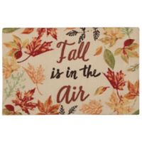 """Nourison """"Fall is in the Air"""" 1-Foot 8-Inch x 2-Foot 6-Inch Multicolor Accent Rug"""