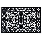 Home & More Utopia 24-Inch x 36-Inch Rubber Door Mat