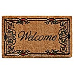 Home & More Charleston Welcome 17-Inch x 29-Inch Multicolor Door Mat