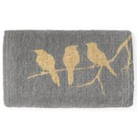 Fab Habitat Extra Thick Birds on Branch 18-Inch x 30-Inch Multicolor Door Mat