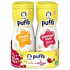 Gerber® Graduates 4-Count Puffs Cereal Snack in Banana and Strawberry Apple