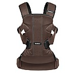 BABYBJÖRN® Carrier One Air Baby Carrier in Black/Brown