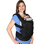 Blooming Baby Carrier in Black/Black