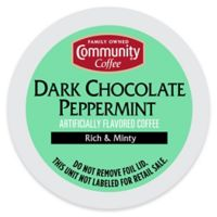 18-Count Community Coffee® Dark Chocolate Peppermint for Single Serve Coffee Makers