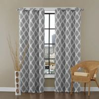 VCNY Home Tribeca 95-Inch Grommet Top Room Darkening Window Curtain Panel Pair in Grey