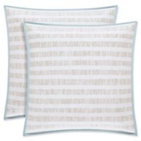 Oscar/Oliver Vince European Pillow Sham in Aqua