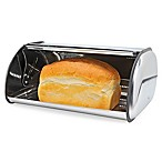 Home Basics® Stainless Steel Bread Box in Silver