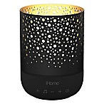iHome Zenergy™ Meditative Light & Sound Therapy Candle in Black
