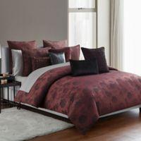 Highline Bedding Co. Gabriella 3-Piece King Comforter Set in Cabernet