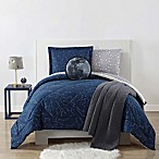 Laura Hart Kids Night Sky 2-Piece Full/Queen Comforter Set in Midnight Blue